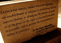 first-amendment-in-stone
